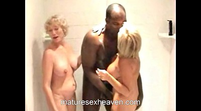 Mature swinger, Mature shower