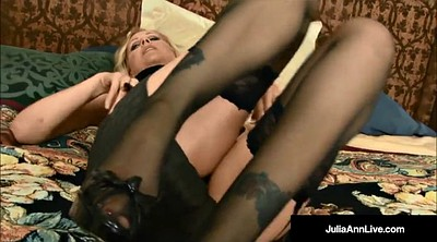 Julia ann, Pantyhose, Milf, Julia, Mouth, Milf pantyhose