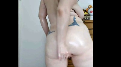 Bbw webcam, Thigh