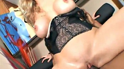 Julia ann, Ann, Tattooed, Blonde milf