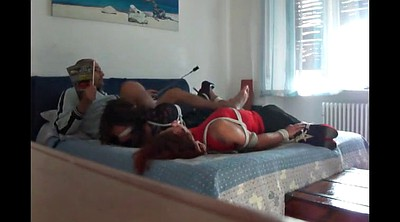 Bdsm torture, Hogtied, Bed