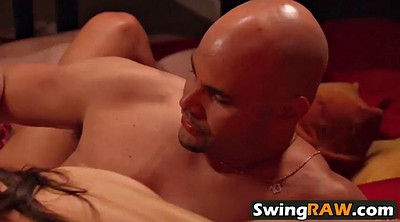 Swingers couples, Naked