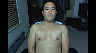 Daddies, Asian webcam, Voyeur masturbation, Asian daddy