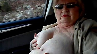Flashing, Granny bbw