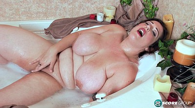 Fat, Bath, Chubby masturbation