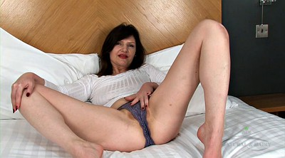 Mature solo, Mature hairy