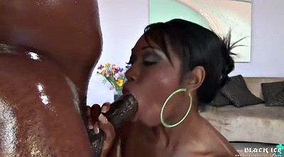 Creampie, Ebony, Black mature