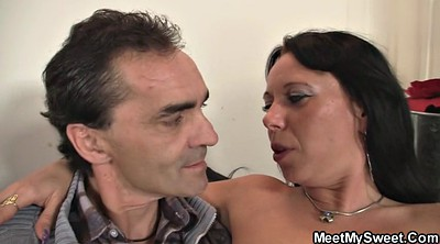 Czech couples, Czech couple, Czech mature, Old mature, Old couple, Young threesome