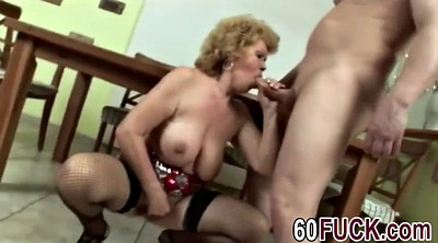 Pussy lick, Busty granny, Bbw pussy lick