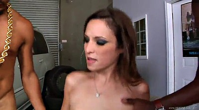 Monster, Small cock, Double anal, Amber rayne, Monster tits