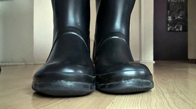 Boots, Lick foot, Rubber