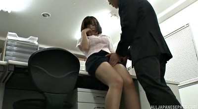 Japanese pantyhose, Japanese office, Japanese handjob