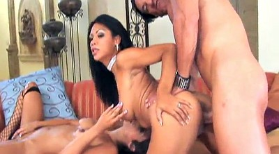 Latina threesome, Fishnet, Ffm