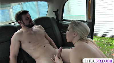Car, Huge boob, Taxi, Big boob