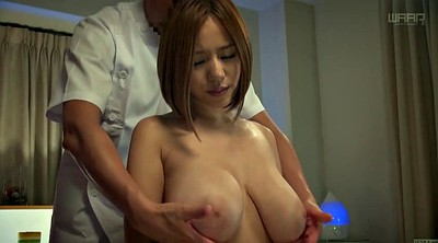 Japanese massage, Japanese big tits, Oiled, Japanese milf, Breast, Subtitles