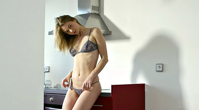 Kitchen, Toy, Teen masturbating, Kitchen sex
