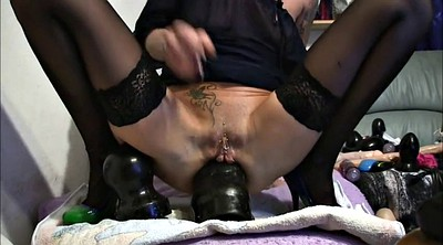 Milf anal gape, German slut, Anal destruction