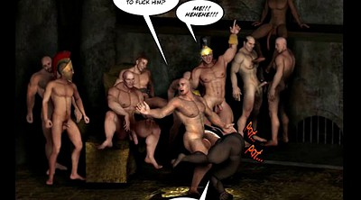 Cartoon, Anime cartoons, Comic, Ancient, Bdsm orgy, Bdsm gangbang