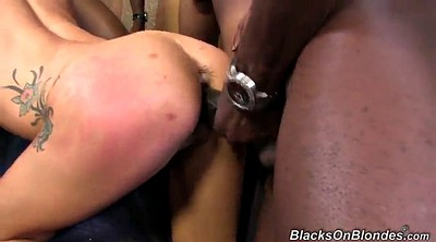 Interracial anal, Tits anal