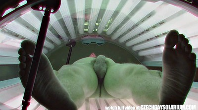 Czech, Young, Secret, Solarium, Czech public, Czech amateurs