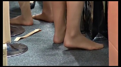 Nylon, Nylon feet, Leg, Feet foot