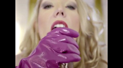 Latex, Glove, Gloves, Mature compilation, Latex gloves