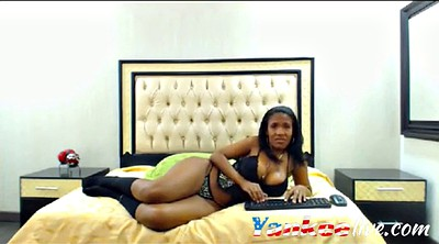 Ebony solo, Chat, Black ass, Ebony ass, Chatting, Ass show