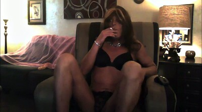 Smoking, Crossdressers, Crossdress, Big toys