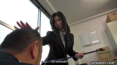 Japanese office, Japanese pantyhose, Japanese boss, Pantyhose face