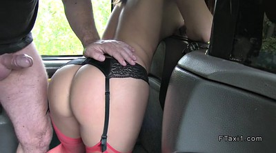 Taxi, Stocking, Stockings lingerie, Stockings brunette, Stock
