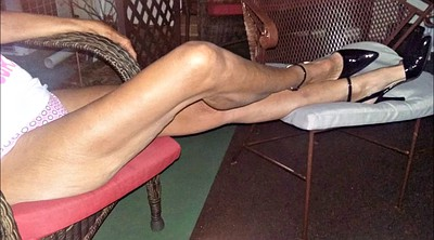 Mature foot, Shoes, Mature feet, Footing, Heel shoes