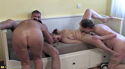 Group granny, Old guy, Mature group, Granny fuck
