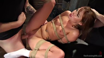 Tied blowjob