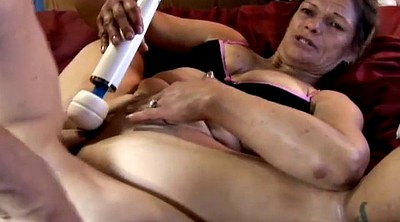 Huge toy, Mature dildo, Granny love