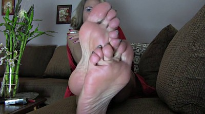 Milf foot, Mom feet, Mature feet, Blonde mom, Blonde mature, Blond mature
