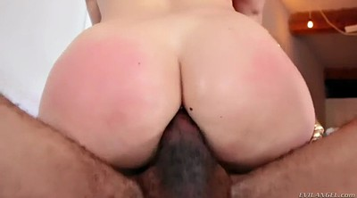 Face fuck, Cum swallow, Sitting, Eat, Big butt anal