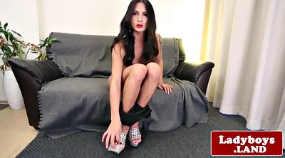 Shemale solo, Asian solo, Tranny solo, Tranny cum, Shemale asian