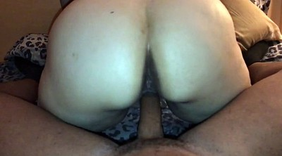 Reverse cowgirl, My wife riding my cock, Bbw interracial