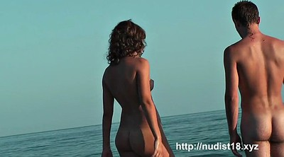 Spy, Nudist beach, Flash