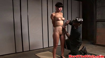 Tied up, Bondage vibrator, Asian tied, Asian bdsm
