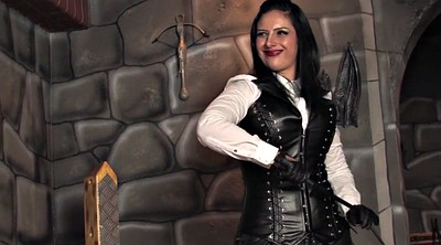 Mistress, Whipped, Leather, Femdom whip