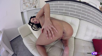 Flat, Alone, Flat chested, Fingers solo hd