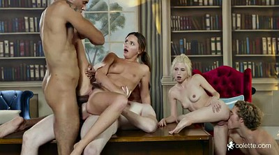 College, Orgy, Library, Piper, College sex