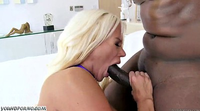 Big tits, Busty blond, Mature woman, Mature interracial, Black woman