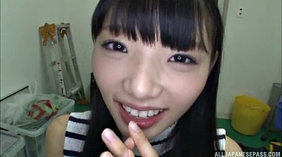 Handjob, Asian handjob, Tongue, Long tongue, Asian pov