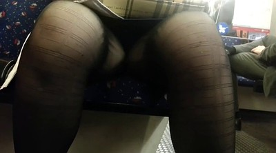 Upskirt, Japanese public, Asian mature