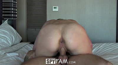 Teen creampie, Stepsister, Riding creampie, Bros