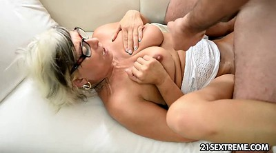 Granny, Old granny, Wrestling, Huge cumshot