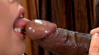Long cock, Shaved pussy, Interracial anal