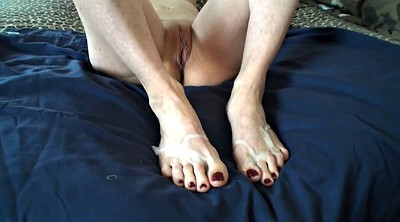 Feet, Foot job, Mature feet